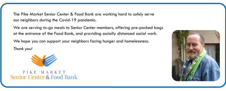 Pike Market Senior Center & Food Bank